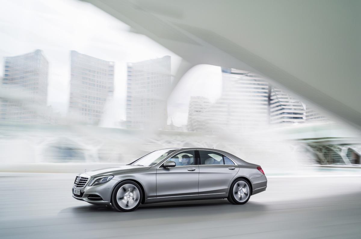 La nueva Clase S se viste de largo en  Mercedes-Benz Comercial Valencia