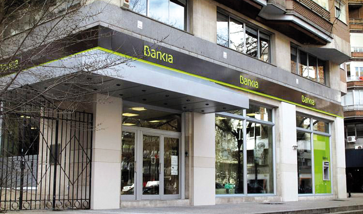 BFA-Bankia gana 428 millones en el primer semestre del año