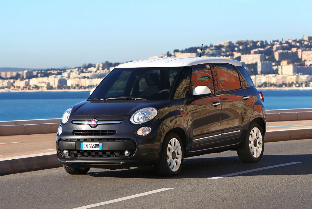 Un coche Fiat