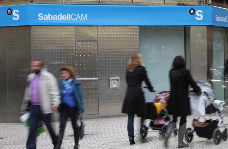 Banco Sabadell obtiene un beneficio de 81,2 millones, un 58,8% superior al primer trimestre de 2013