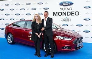 El nuevo Ford Mondeo se presenta rodeado de estrellas en la gala Starlite