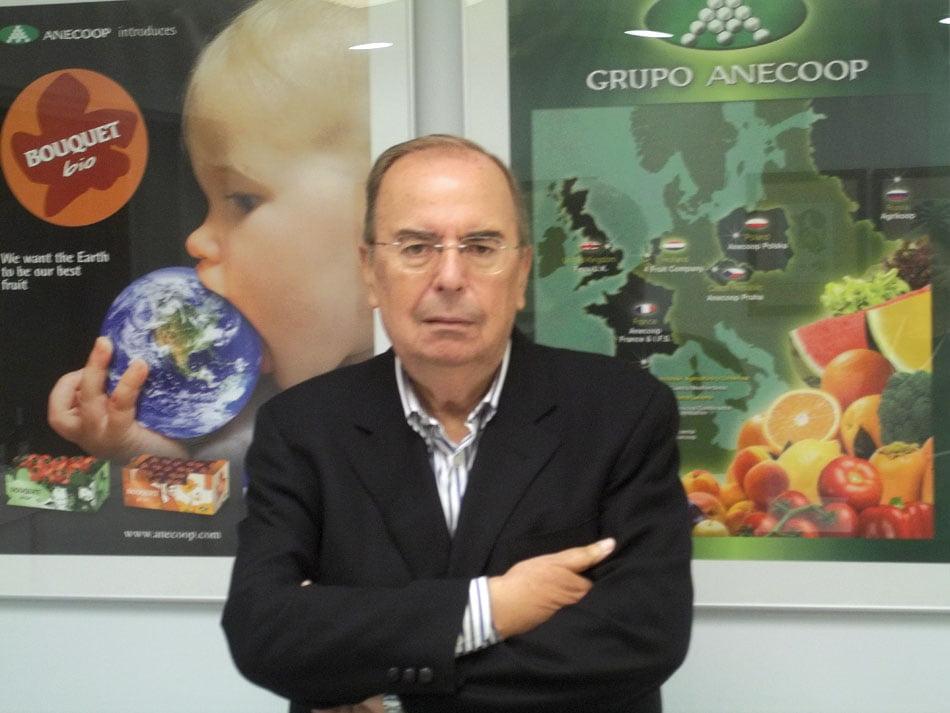 Fallece José María Planells, director general de Anecoop durante 35 años