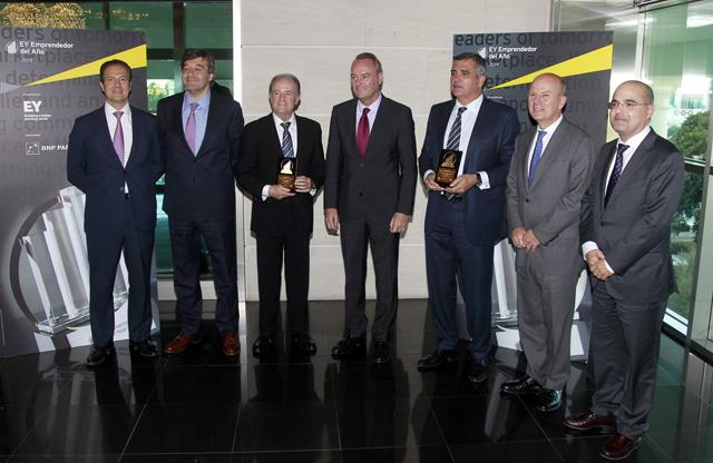 Los presidentes de Balearia y Suavinex, finalistas al Premio Emprendedor del Año EY
