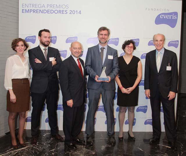 Una superestructura de hormigón gana el premio Emprendedores de Fundación Everis