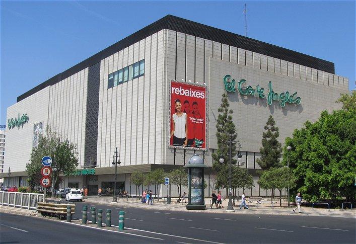 El corte ingl s reordena a partir de marzo sus establecimientos de nuevo centro y ademuz economia3 - Libreria el corte ingles valencia ...