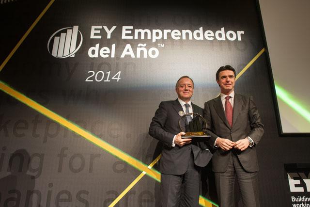 EY designa a Ernesto Antolín Emprendedor del Año