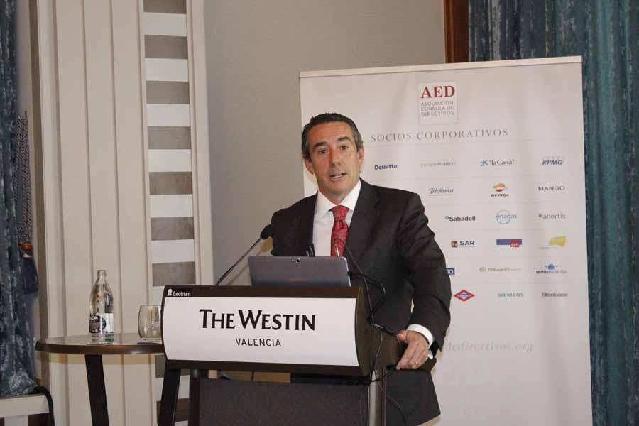 """Juan A. Alcaraz (CaixaBank): """"Queremos alcanzar un 20% de cuota de mercado en clientes en la Comunidad Valenciana"""""""