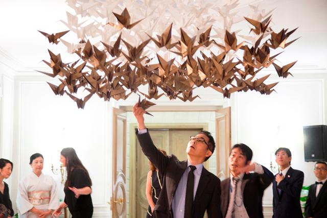 Empaperart Decora Con Grullas De Origami La Residencia Del