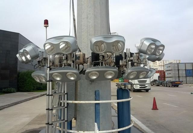 El Puerto de Valencia probará un sistema de iluminación dinámica led para ahorrar energía