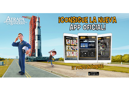 """La app de la película """"Atrapa la bandera"""" ha sido desarrollada por Cuatroochenta de Castellón"""