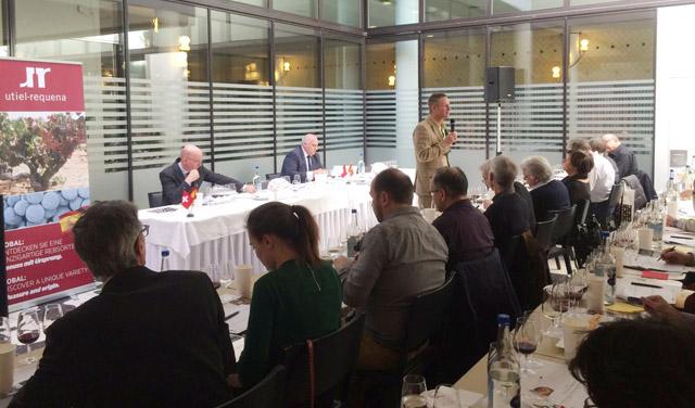 Utiel Requena presenta sus mejores vinos a los profesionales suizos