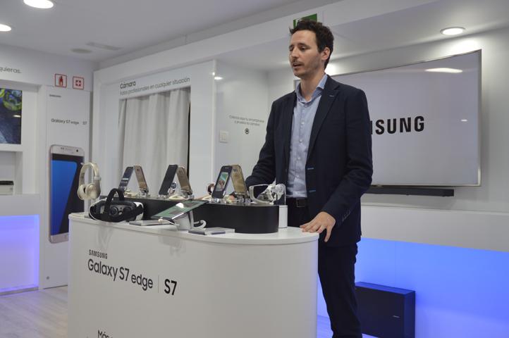 Samsung presenta en Valencia los espectaculares Galaxy S7 y S7 edge