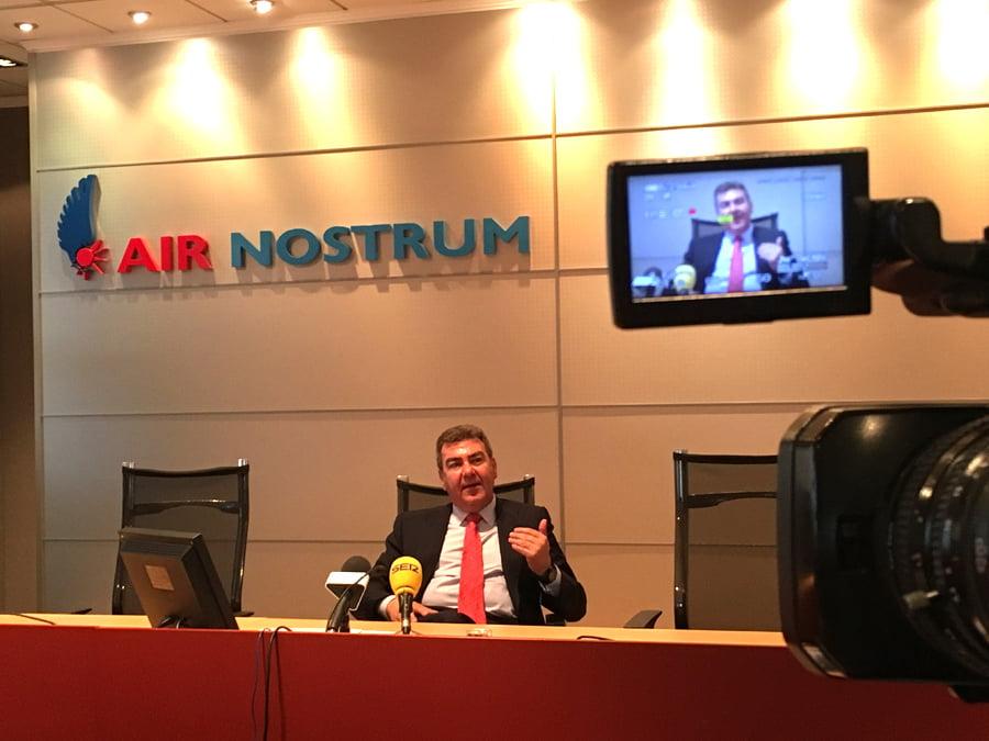 Air Nostrum obtiene un beneficio neto de 11,3 millones de euros y unos ingresos por ventas por valor de 415 millones de euros