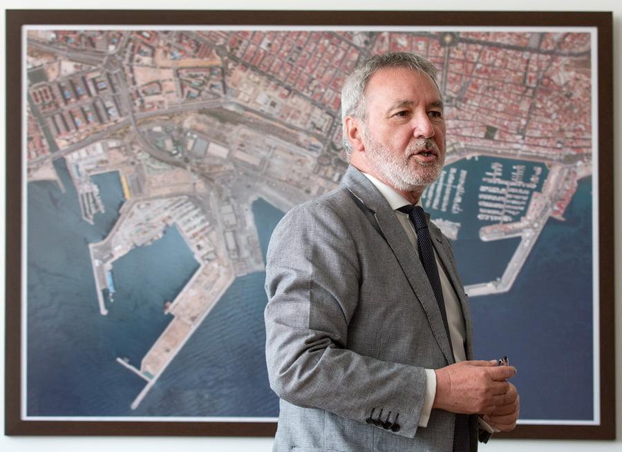 """J.A. Gisbert (Alicante Port): """"Alicante es un puerto diseñado para el tráfico de media distancia"""""""