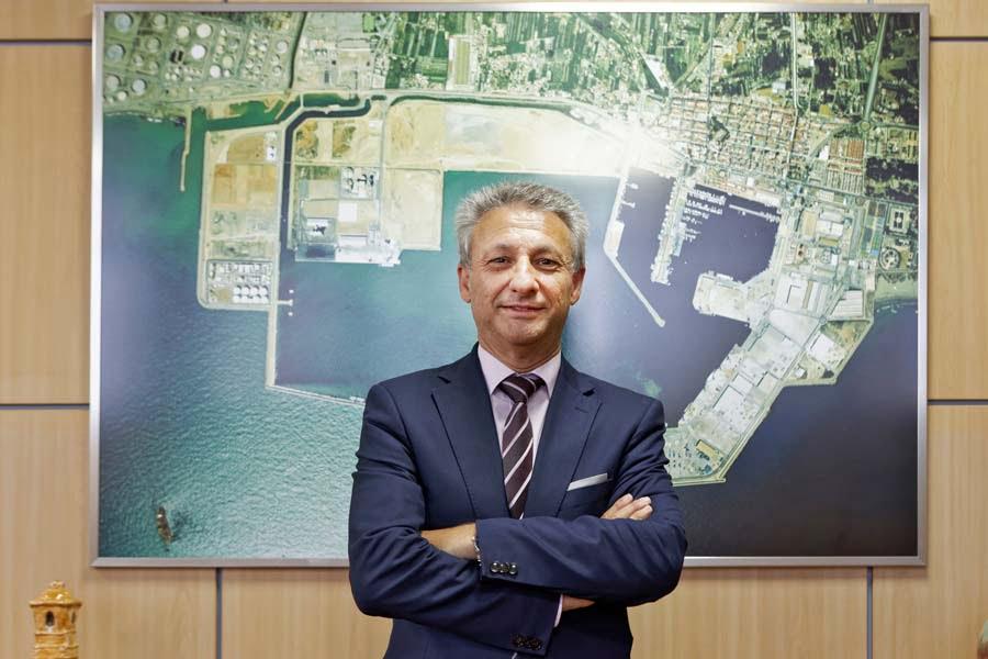"F. Toledo (PortCastelló): ""Las mercancías no se distribuyen de puerto a puerto, se transportan de puerta a puerta"""