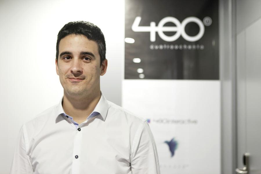 """Alfredo Cebrián (Cuatroochenta): """"Aplicamos la tecnología para que el ser humano sea más feliz"""""""