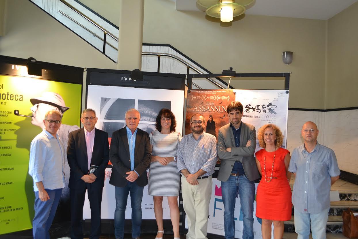 Gas Natural y el Institut Valencià de Cultura presentan la programación de la XVII Filmoteca d'Estiu de Valencia