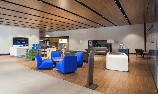 Premio experiencia cliente a los nuevos conceptos de for Oficinas liberbank valencia