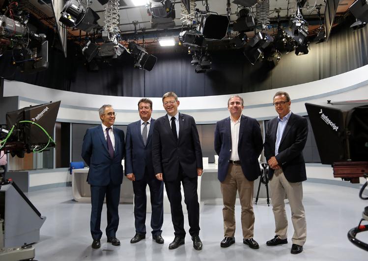 La Generalitat impulsará un centro de comunicaciones y de producción audiovisual en las instalaciones de RTVV