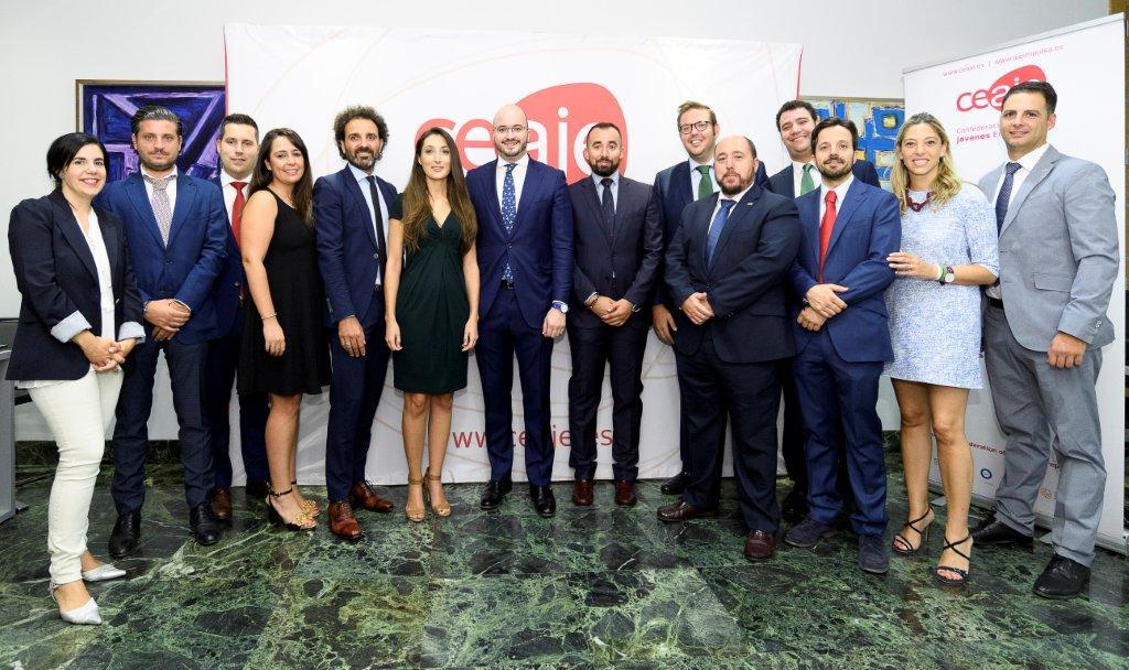 El presidente de AJE Valencia, elegido vicepresidente en la organización nacional
