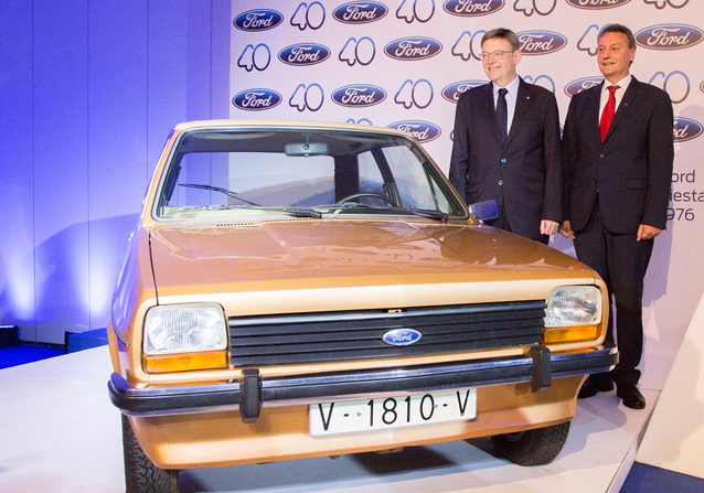El Ford Fiesta ya es cuarentón: hoy se cumple el 40 aniversario de su salida de Almusafes