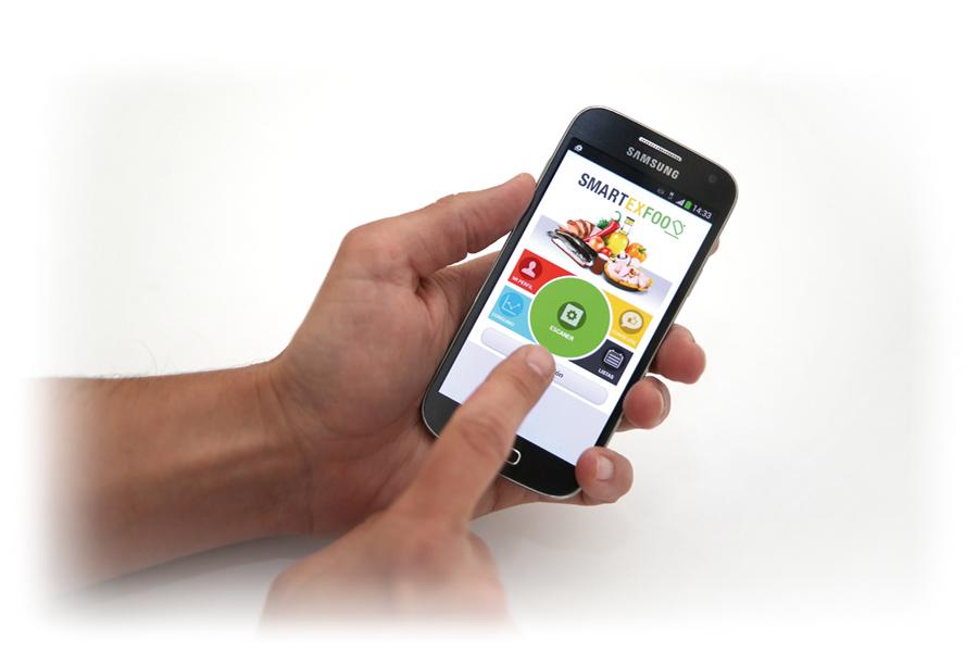 Ainia desarrolla una app experimental que ayuda a hacer una compra saludable