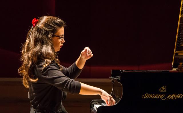 Fundación Bancaja ofrece el concierto de la joven pianista valenciana Mar Valor