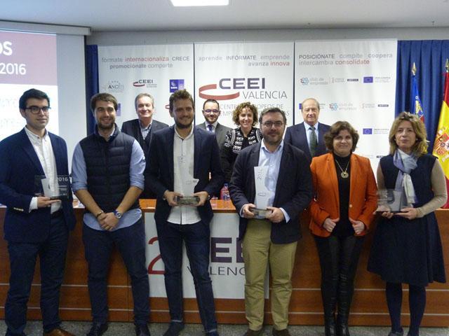 CEEI e Ivace entregan los premios Creación Empresa y Trayectoria Empresarial