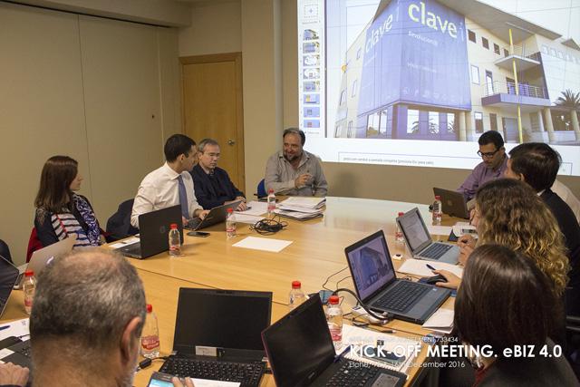 Clavei coordina el proyecto europeo eBIZ-4.0 para mejorar la competitividad de las pymes
