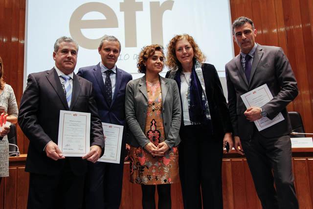 Hidraqua, Aigües d'Elx y Agamed reciben el Certificado EFR de conciliación familiar