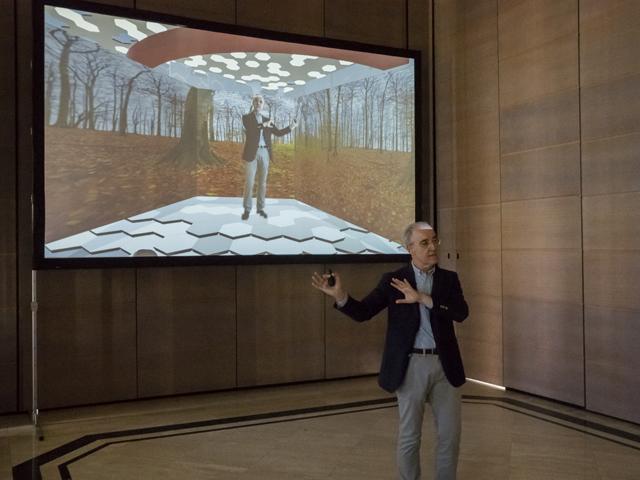 Aumentaty presenta Realidad Inmersiva, sin cables, cascos o pantallas.