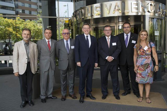 Puig y Navarro acompañaron a Ivefa en la celebración de su 20 aniversario