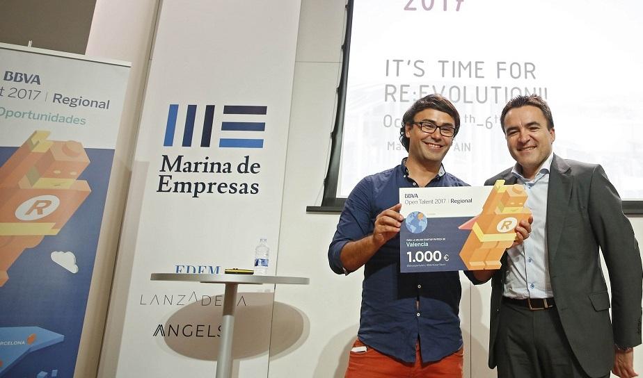 BBVA Open Talent premia a Neuronalbite como mejor startup valenciana del mundo fintech