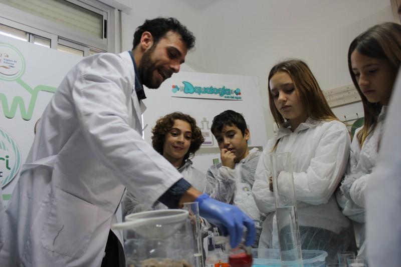 Campaña de concienciación ambiental en Paterna.