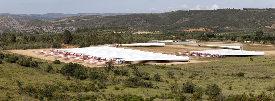 El transporte industrial más largo hecho en España