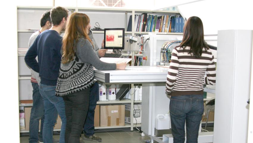 El ITC ha formado en decoración digital cerámica mediante tecnología inkjet