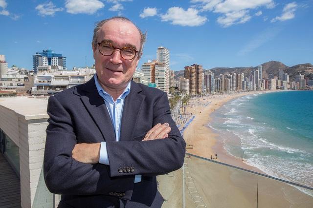 Benidorm registra una ocupación hotelera 7 décimas menor que el pasado año