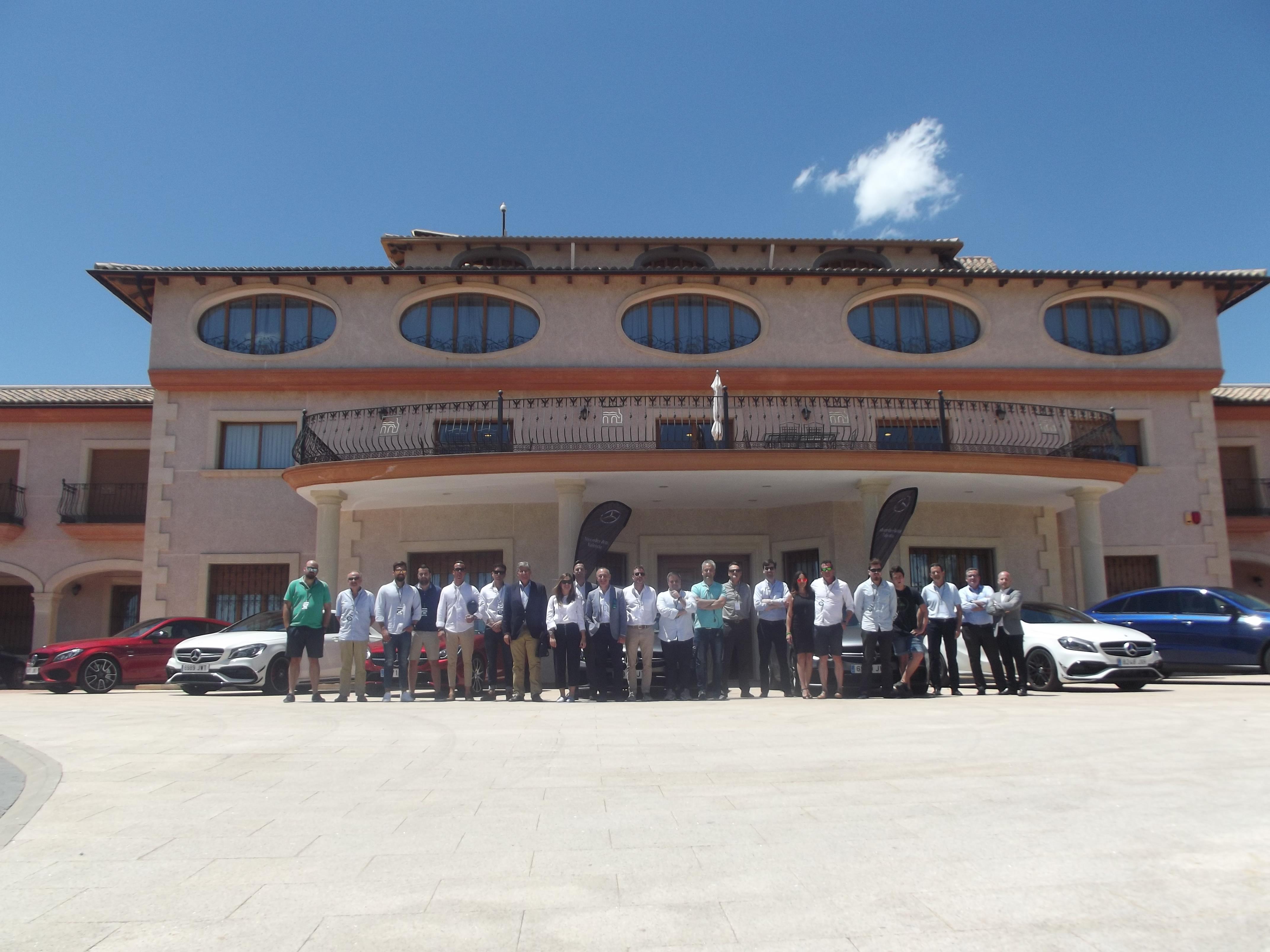 Caravana AMG en Mercedes-Benz Valencia