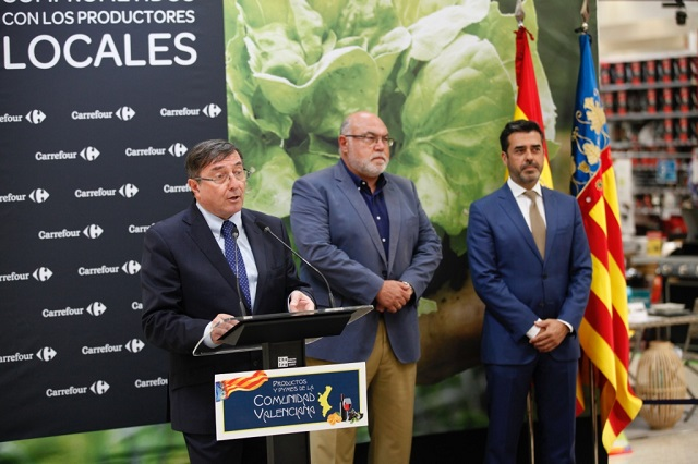 Carrefour promociona los productos de la Comunidad en 17 hipermercados
