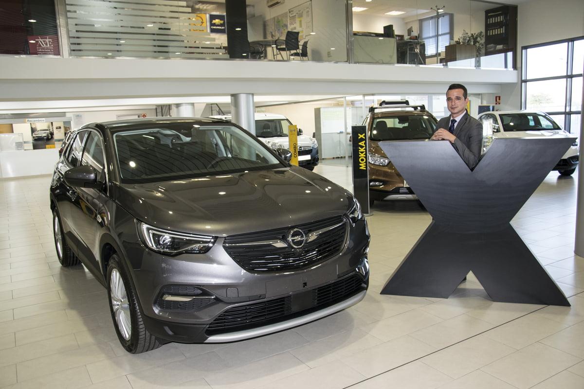 Opel Palma presenta el nuevo SUV de la gama:  el Grandland X
