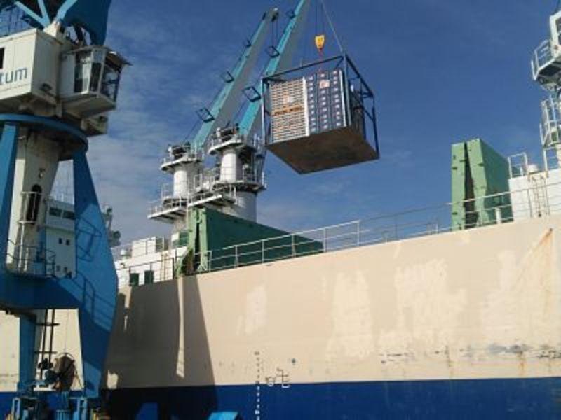 PortCastelló movió en julio 1,9 millones de toneladas y bate un nuevo récord