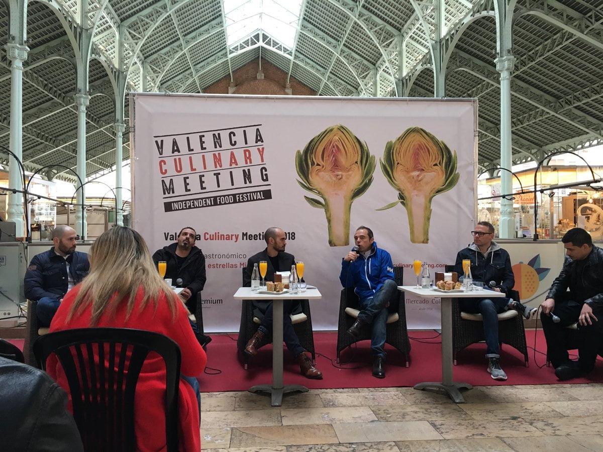 Los chefs del Valencia Culinary Meeting encumbran el producto sin enmascarar