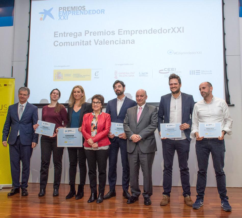 Imagen destacada Cinco proyectos innovadores llegan a la final autonómica del Premio Emprendedor XXI
