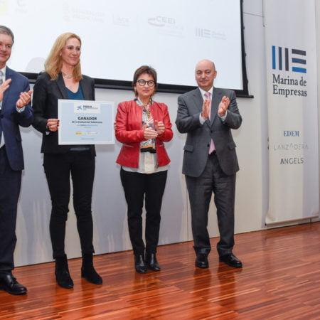 Imagen destacada Visual gana el Premio EmprendedorXXI en la Comunitat Valenciana