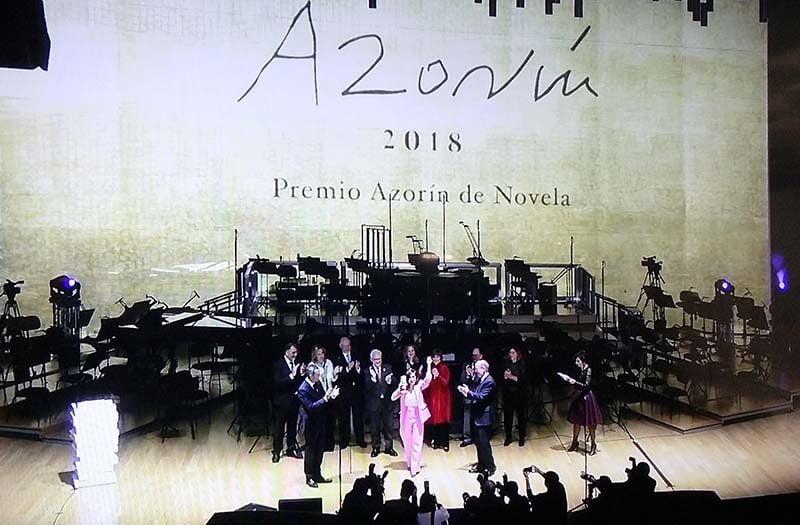 La actriz catalana Nuria Gago se alza con el Premio Azorín de Novela