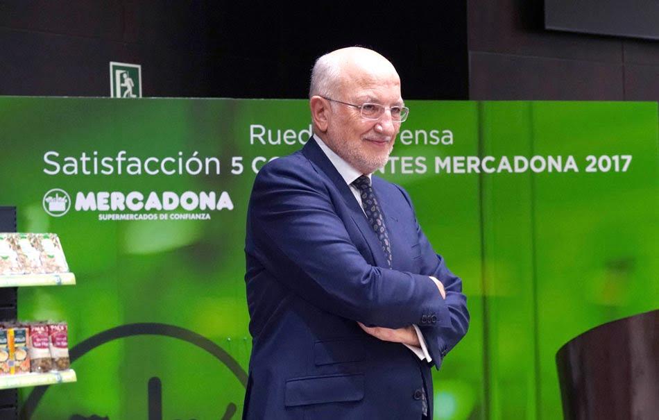 Imagen destacada Juan Roig, el empresario valenciano que más confianza genera en España