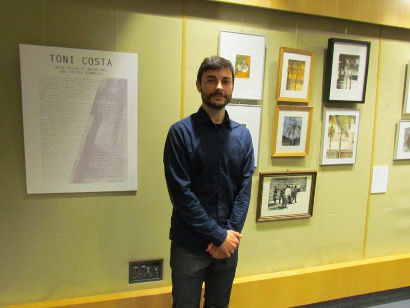 Toni Costa expone en el Espai d´Art Contemporani de El Corte Inglés