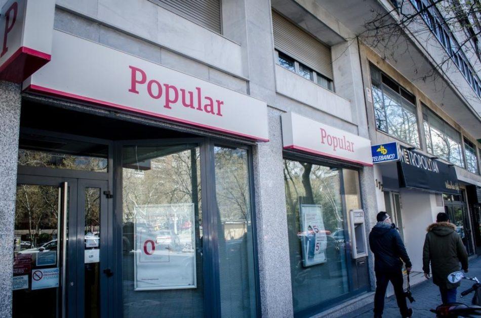 Un juzgado anula una compra de acciones del Popular anterior a 2016
