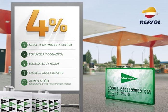 3b3c49ea549 El Corte Inglés habilita su tarjeta de compra en la app Repsol Waylet
