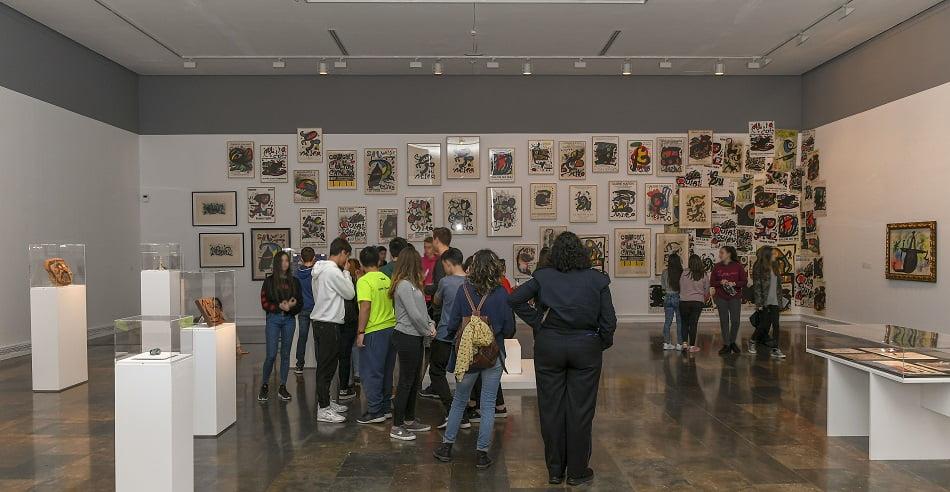 El IVAM celebra el 125º aniversario del nacimiento de Joan Miró
